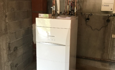 Pompe à chaleur AIR/ EAU  réalisation Juillet 2019